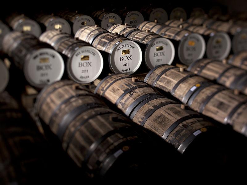 Leżakowanie whisky